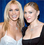 Britney Spears with former mentor