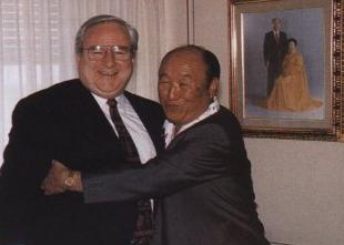 Falwell with friend Rev. Moon