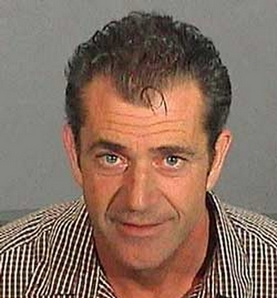 Mel Gibson's arrest photo